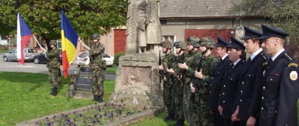 70. výročí osvobození a uctění památky padlých