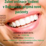 zubař bojkovice reklama