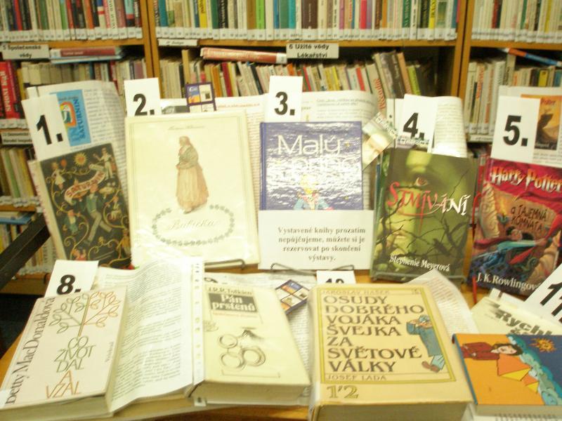 TOP 12   výstava vítězných knih v KMS 09 říjen 009, obrázek se otevře v novém okně