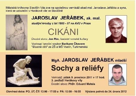 Výstava - J. Jeřábek, obrázek se otevře v novém okně