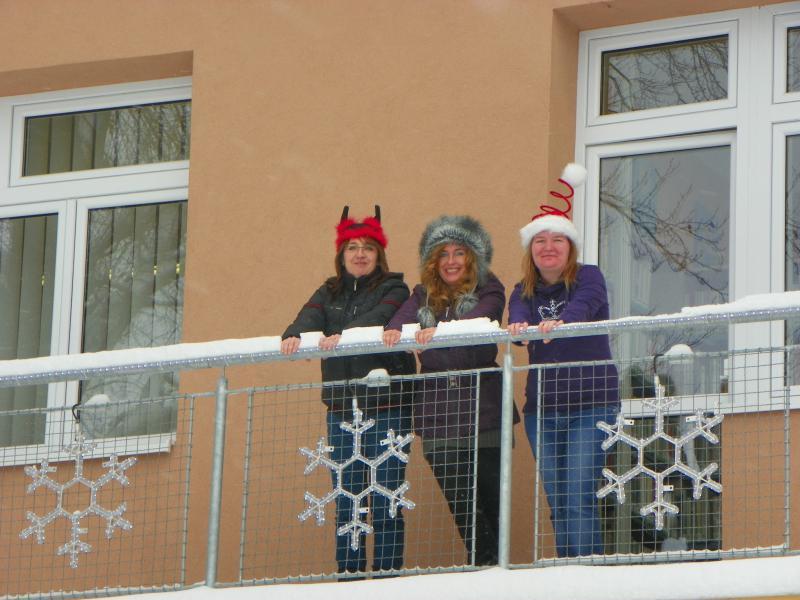 Knihovna - Vánoce 2012, obrázek se otevře v novém okně