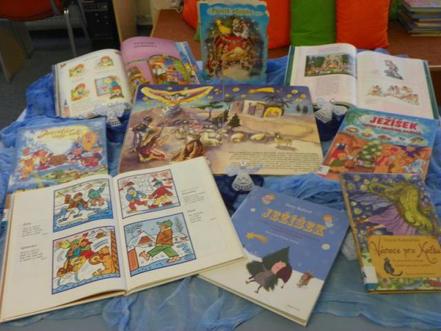 Vánoce 2012 v knihovně 010, obrázek se otevře v novém okně