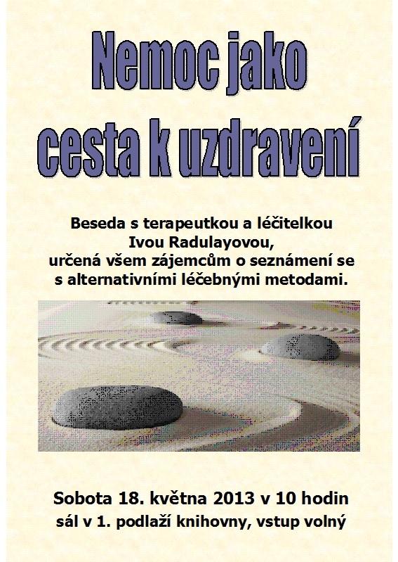 Pozvánka - Iva Radulayová 2013, obrázek se otevře v novém okně