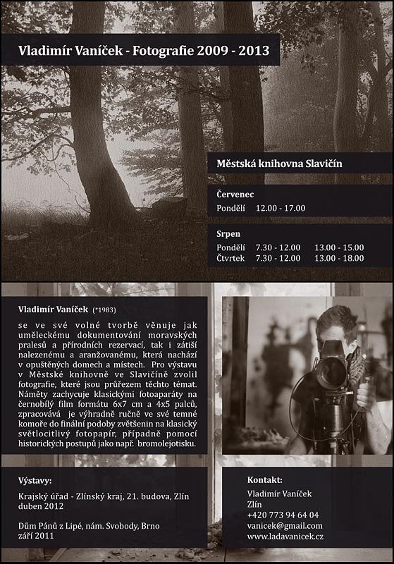 V. Vaníček-Černobílá fotografie - výstava 2013, obrázek se otevře v novém okně