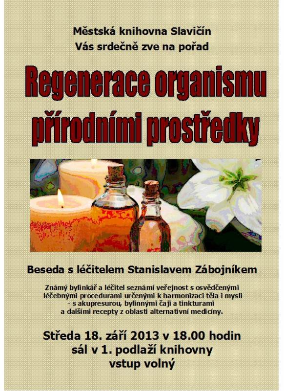 Pozvánka - Beseda-S. Zábojník - září 2013, obrázek se otevře v novém okně