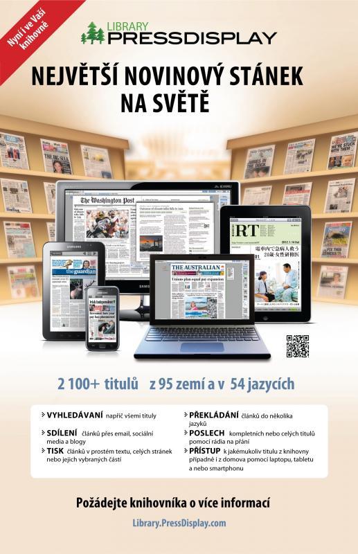 Největší novinový stánek na světě - plakát TK 2013, obrázek se otevře v novém okně