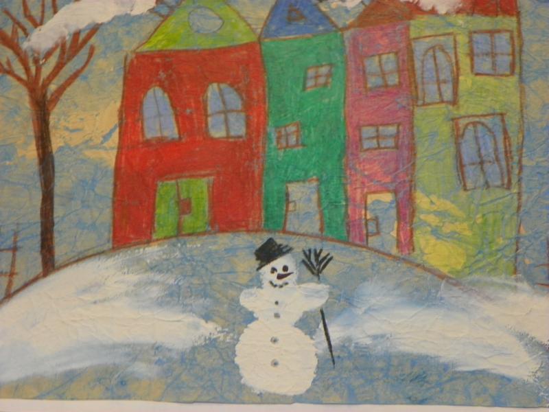 Výstava   Zima   děti MŠ MP 2013 003, obrázek se otevře v novém okně