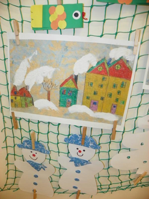 Výstava   Zima   děti MŠ MP 2013 001, obrázek se otevře v novém okně