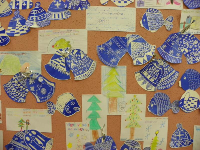 Výtvarná dílna Vánoční čarování ZŠ MP 2013 044, obrázek se otevře v novém okně