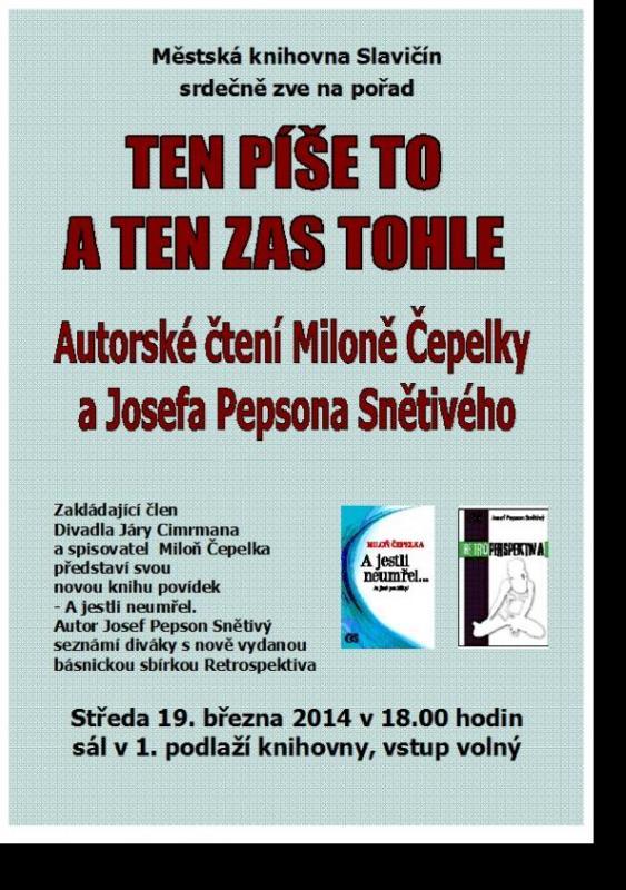 Pozvánka BMČ 2014   čtení M Čepelka, obrázek se otevře v novém okně