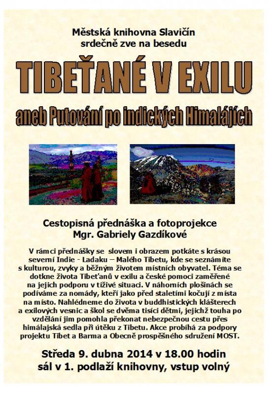 Pozvánka   Tibeťané, obrázek se otevře v novém okně