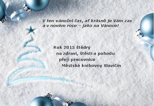 Vánoční přání 014, obrázek se otevře v novém okně