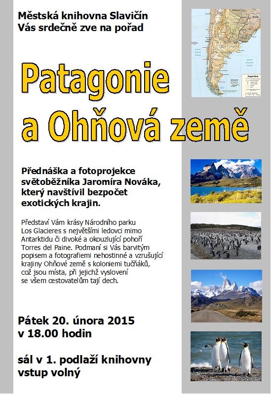 Patagonie, obrázek se otevře v novém okně