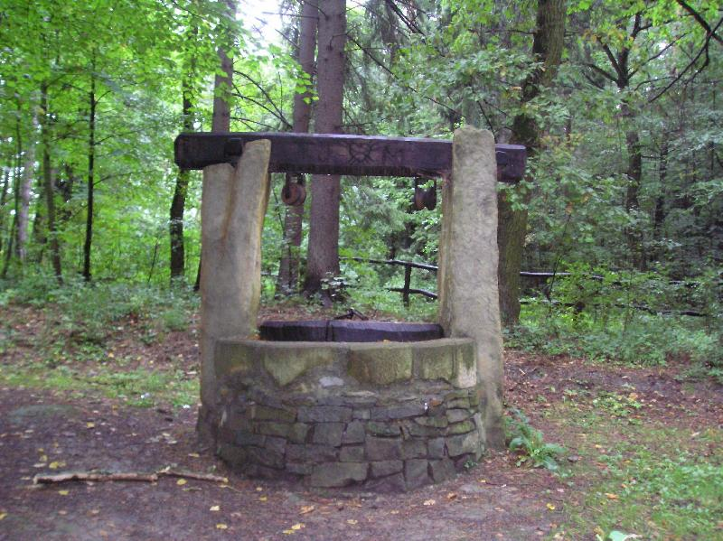 Pivečkův park  studna