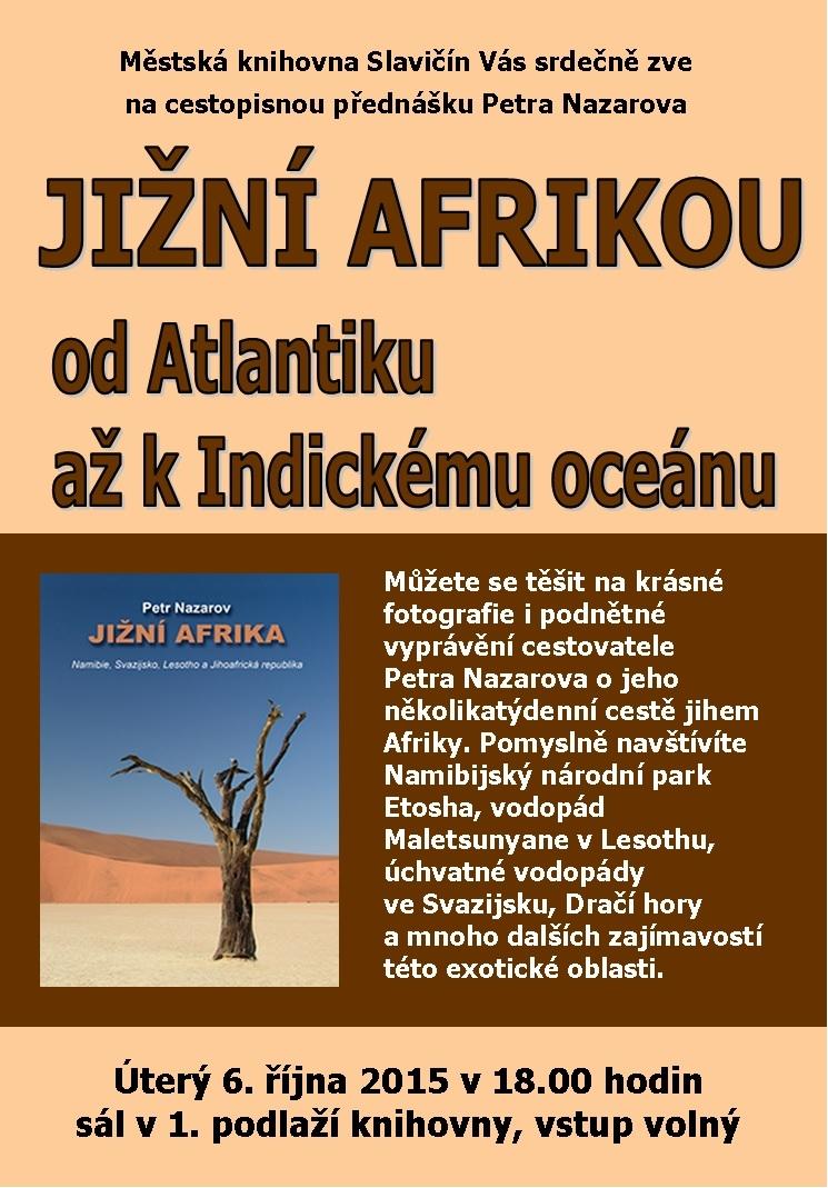 Jižní Afrikou   Petr Nazarov, obrázek se otevře v novém okně