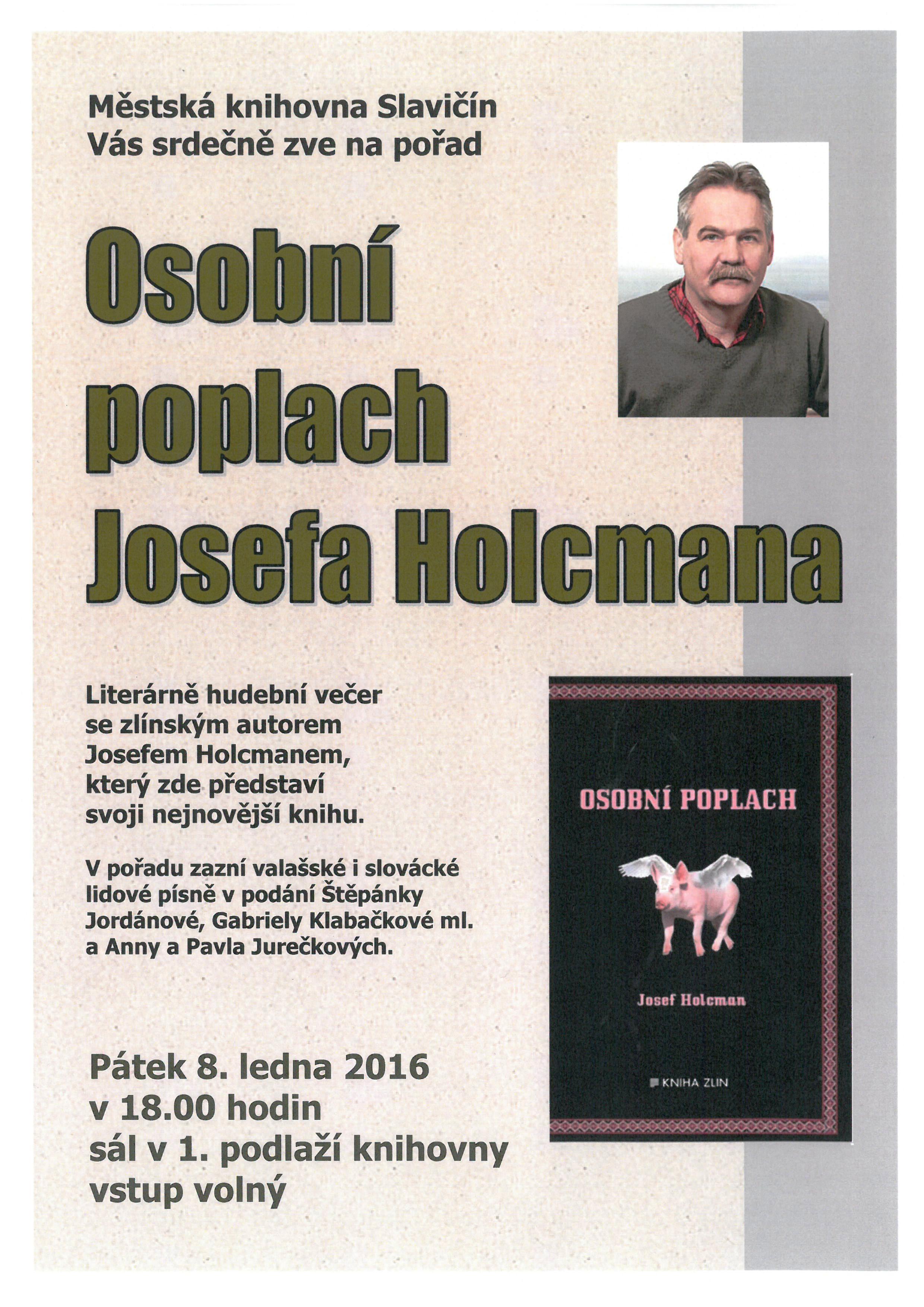 Osobní poplach Josefa Holcmana 2016, obrázek se otevře v novém okně