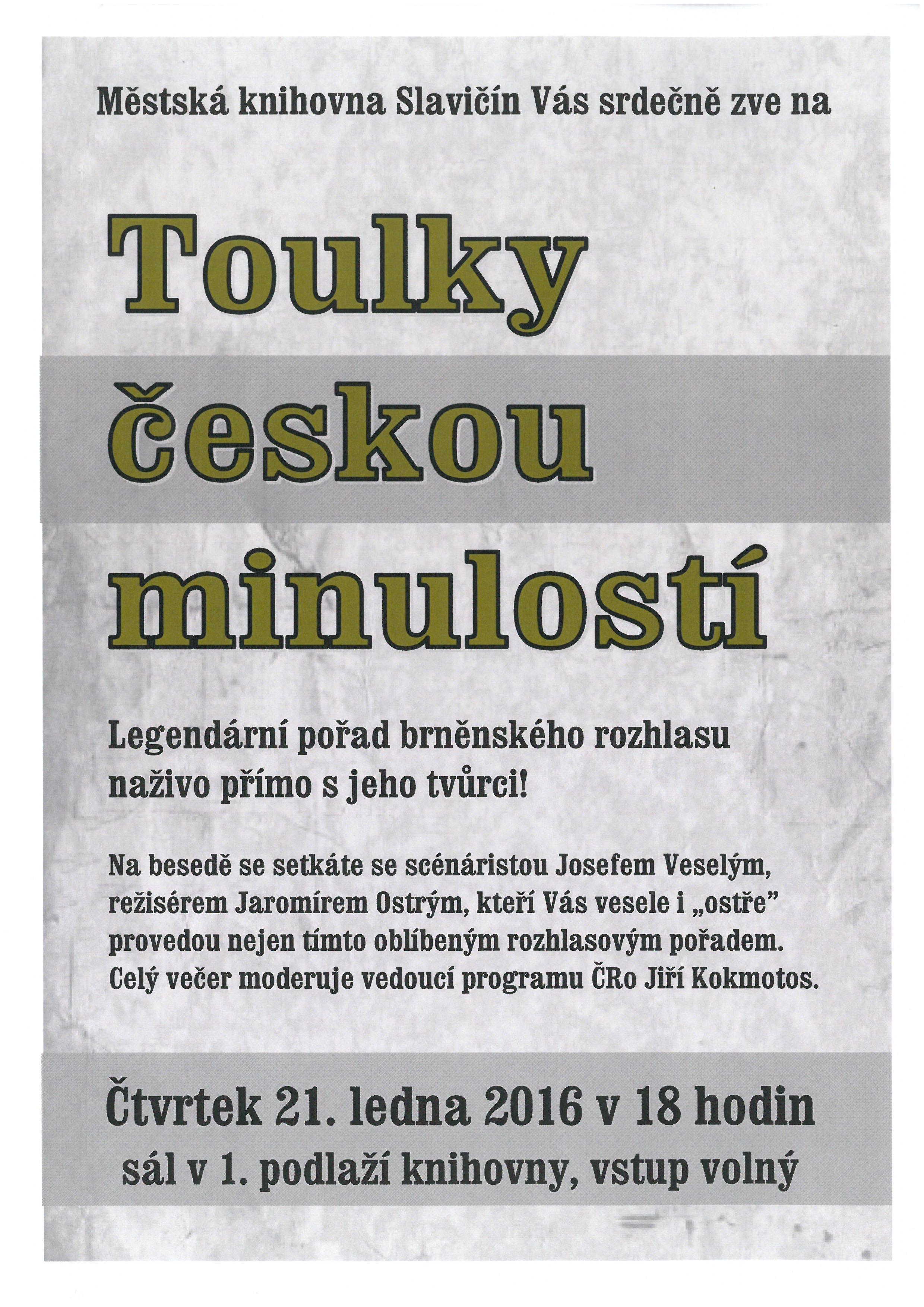 Toulky českou minulostí, obrázek se otevře v novém okně