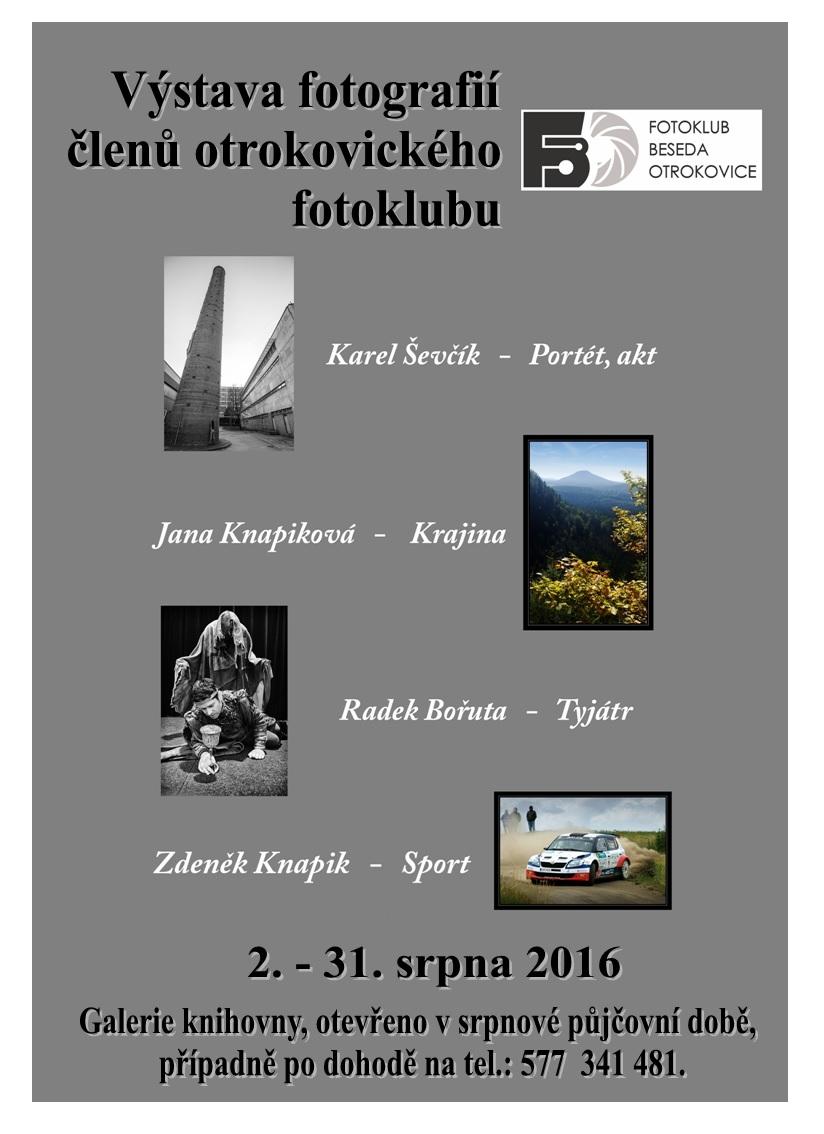 Fotoklub Beseda Otrokovice, obrázek se otevře v novém okně